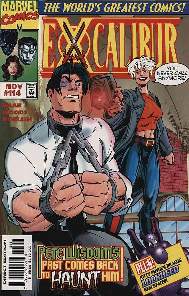 Excalibur comic issue 114