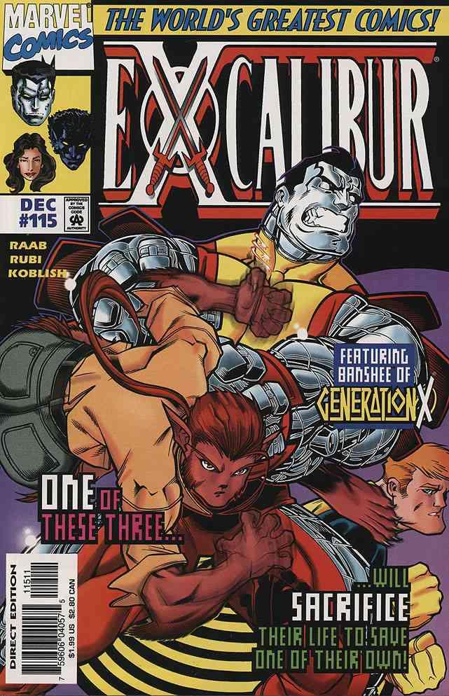 Excalibur comic issue 115