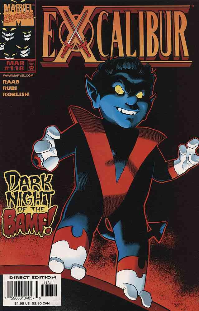 Excalibur comic issue 118