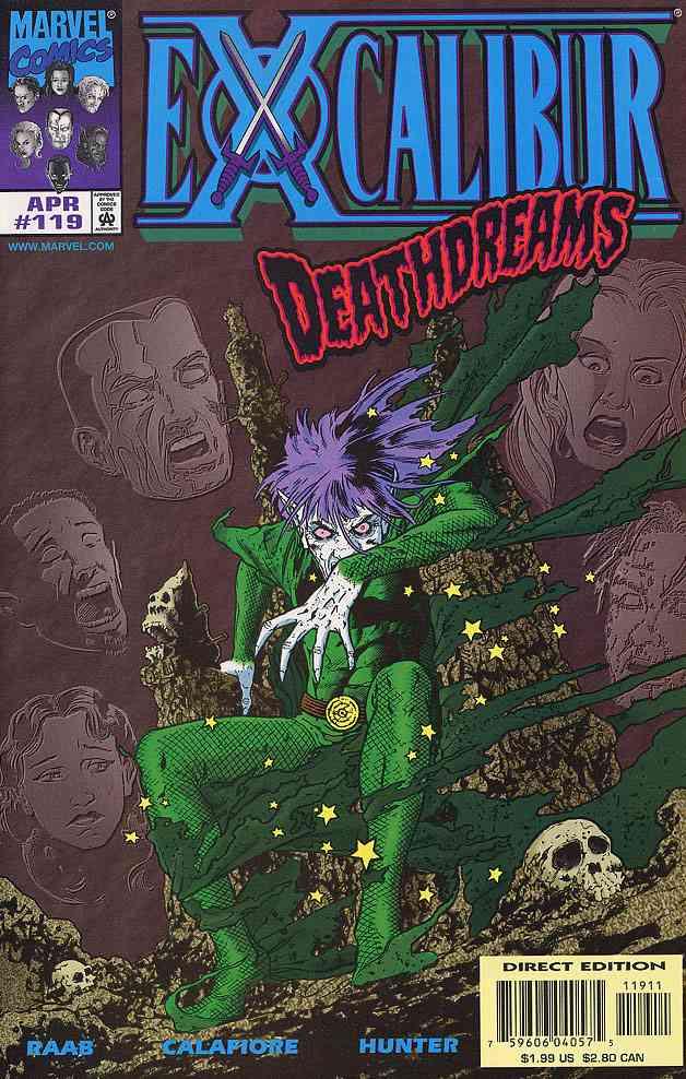 Excalibur comic issue 119