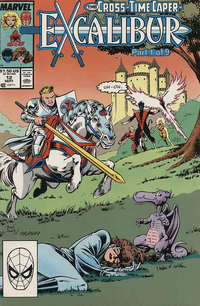 Excalibur comic issue 12