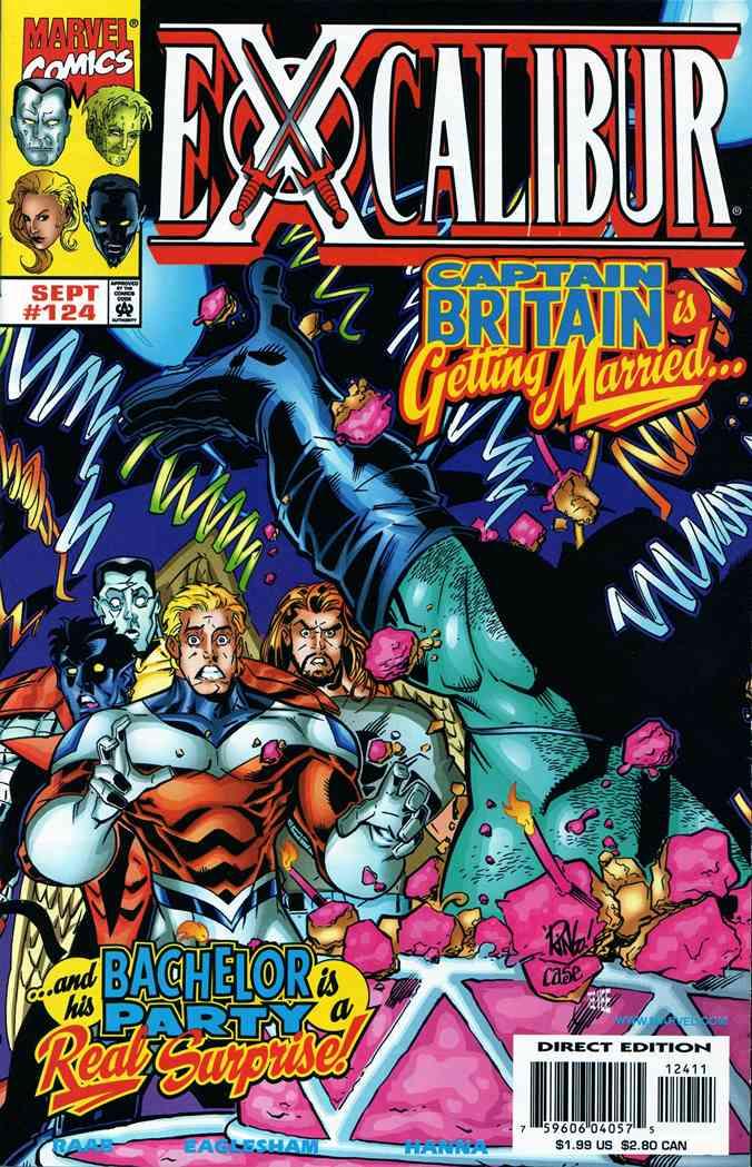 Excalibur comic issue 124