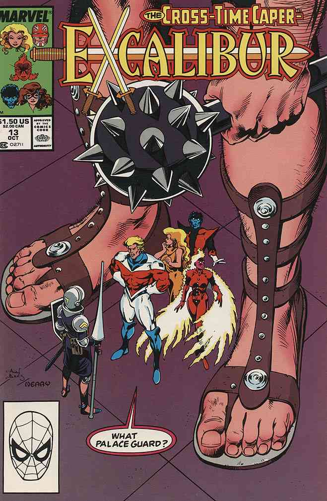 Excalibur comic issue 13