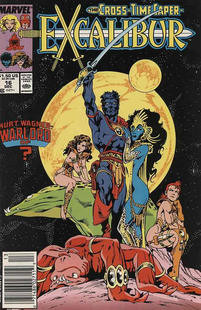 Excalibur comic issue 16