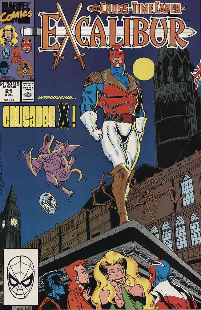 Excalibur comic issue 21
