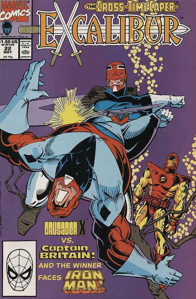 Excalibur comic issue 22