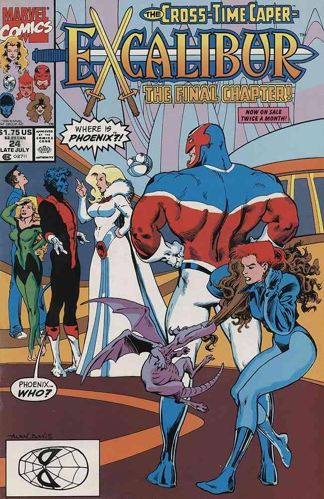 Excalibur comic issue 24