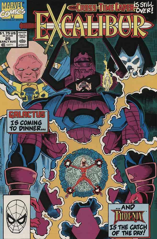 Excalibur comic issue 25
