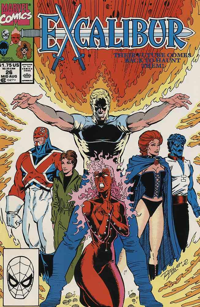 Excalibur comic issue 26