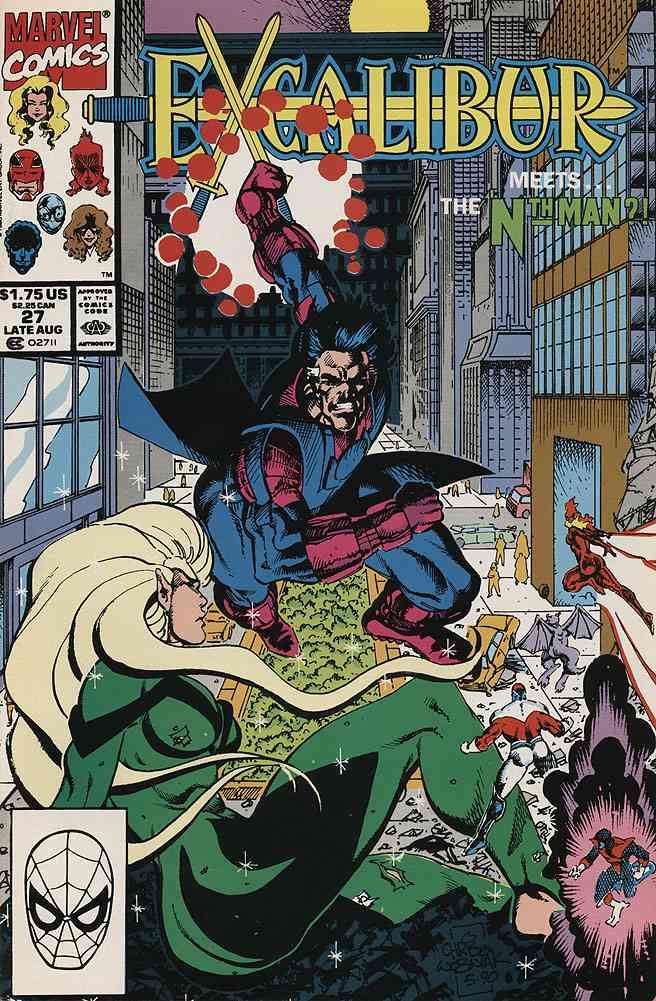 Excalibur comic issue 27
