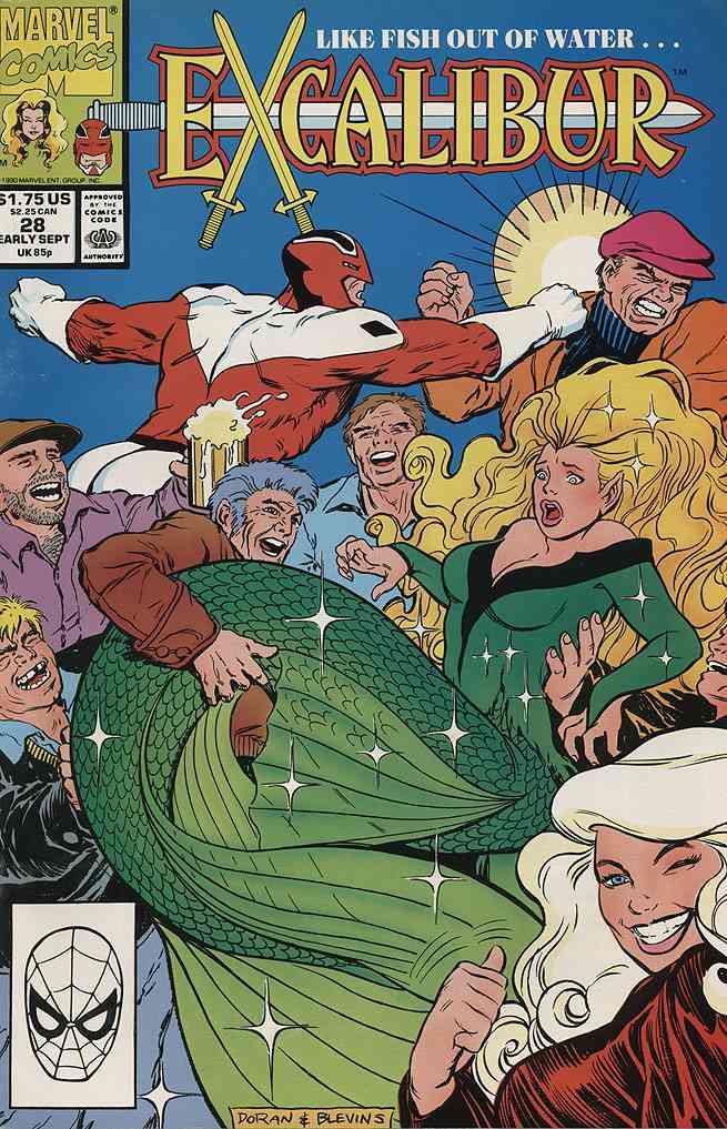 Excalibur comic issue 28