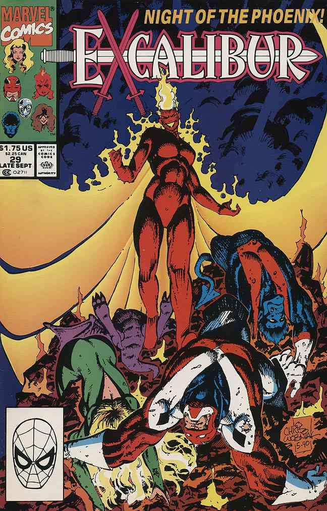 Excalibur comic issue 29