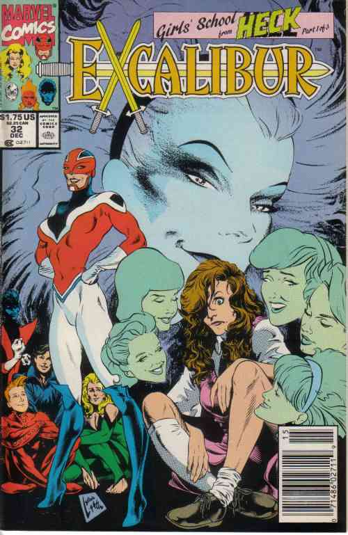 Excalibur comic issue 32