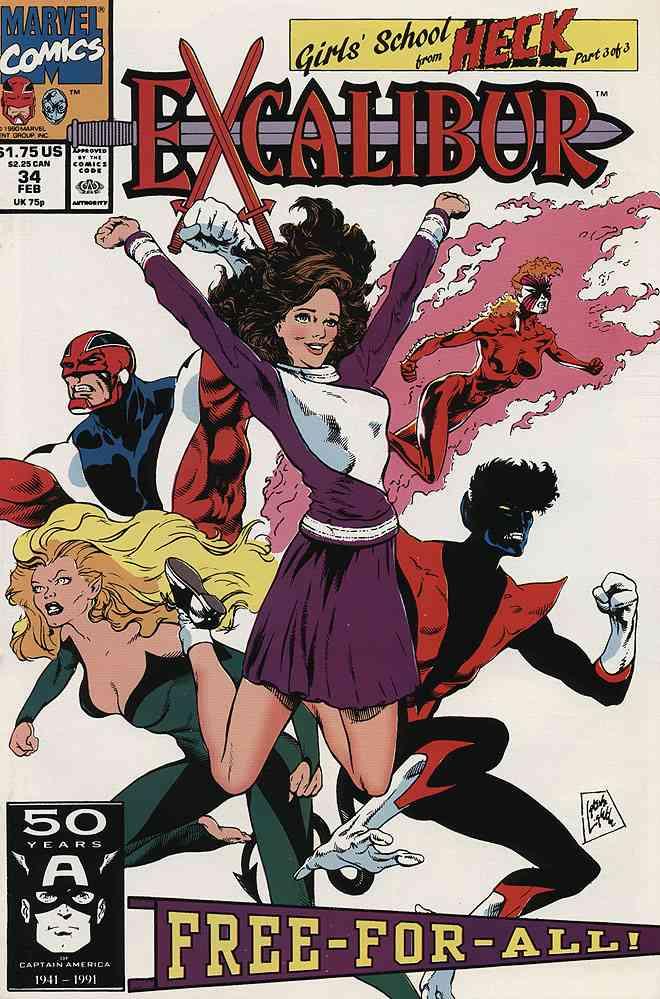 Excalibur comic issue 34