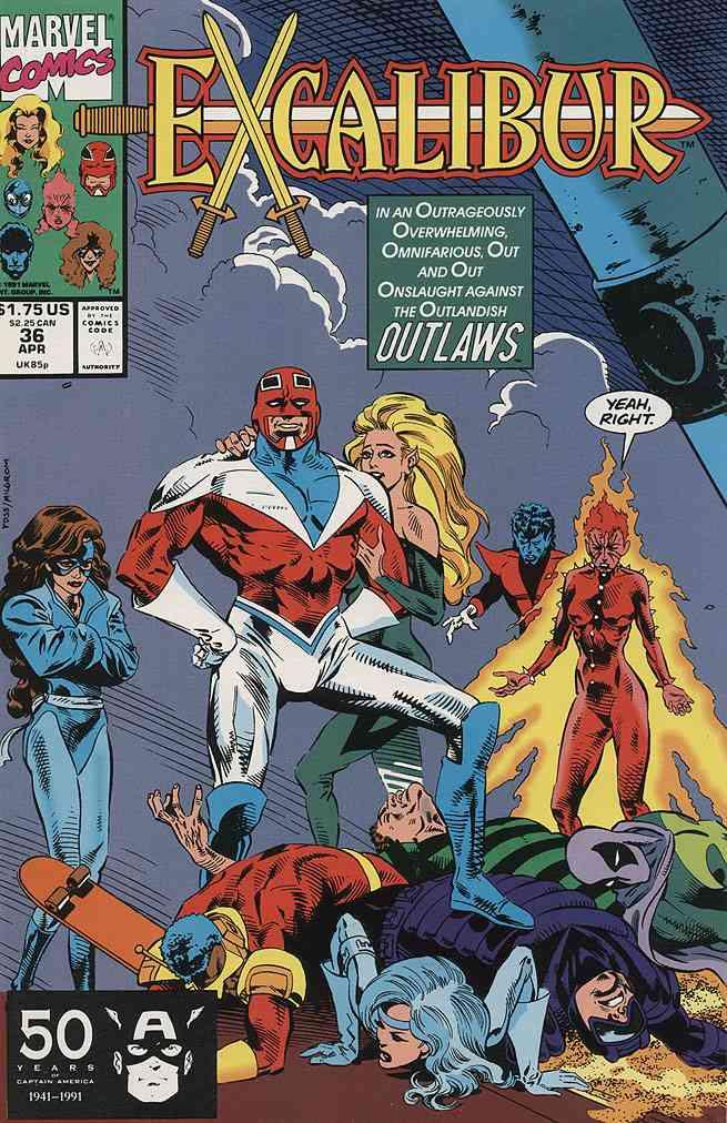 Excalibur comic issue 36
