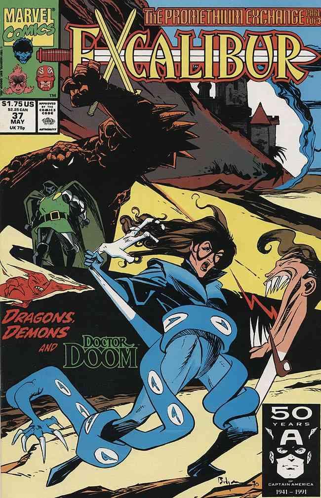 Excalibur comic issue 37