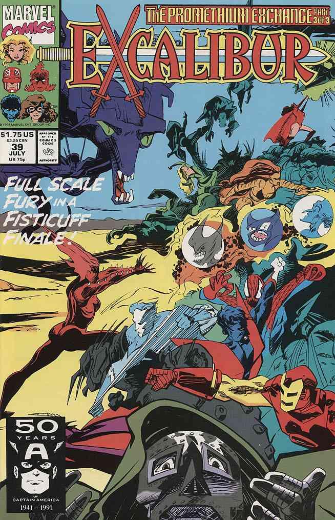 Excalibur comic issue 39