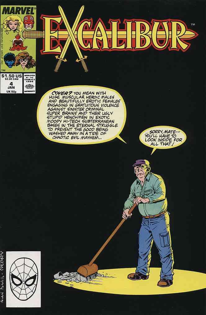 Excalibur comic issue 4