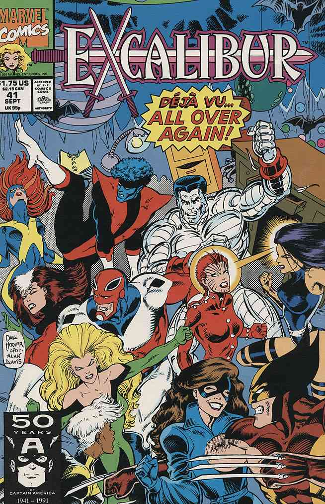 Excalibur comic issue 41