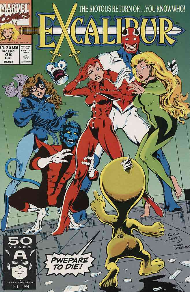 Excalibur comic issue 42