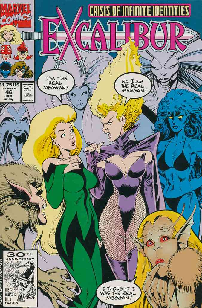 Excalibur comic issue 46
