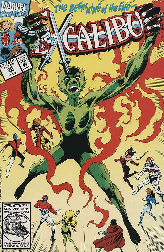 Excalibur comic issue 49