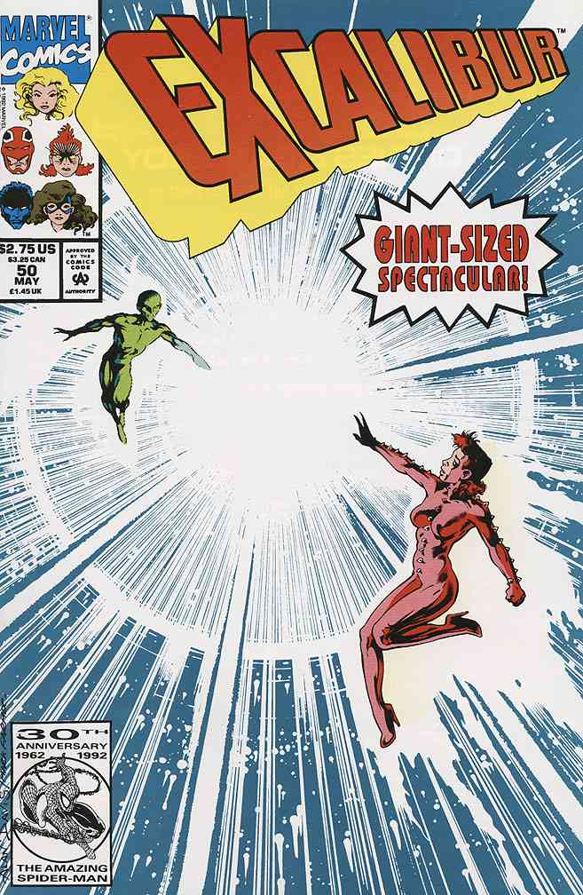Excalibur comic issue 50