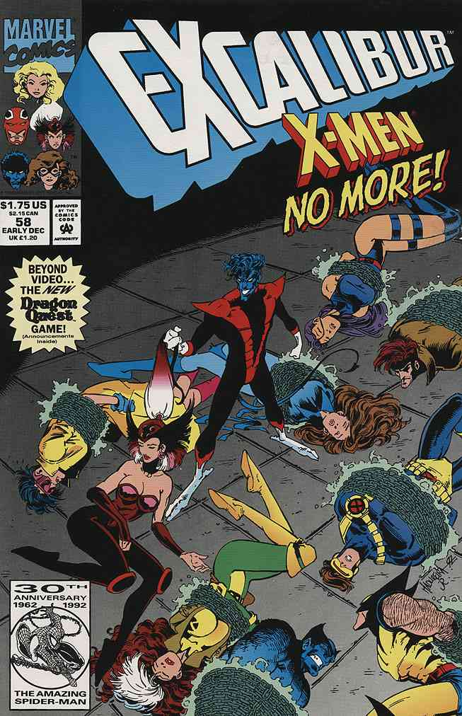 Excalibur comic issue 58