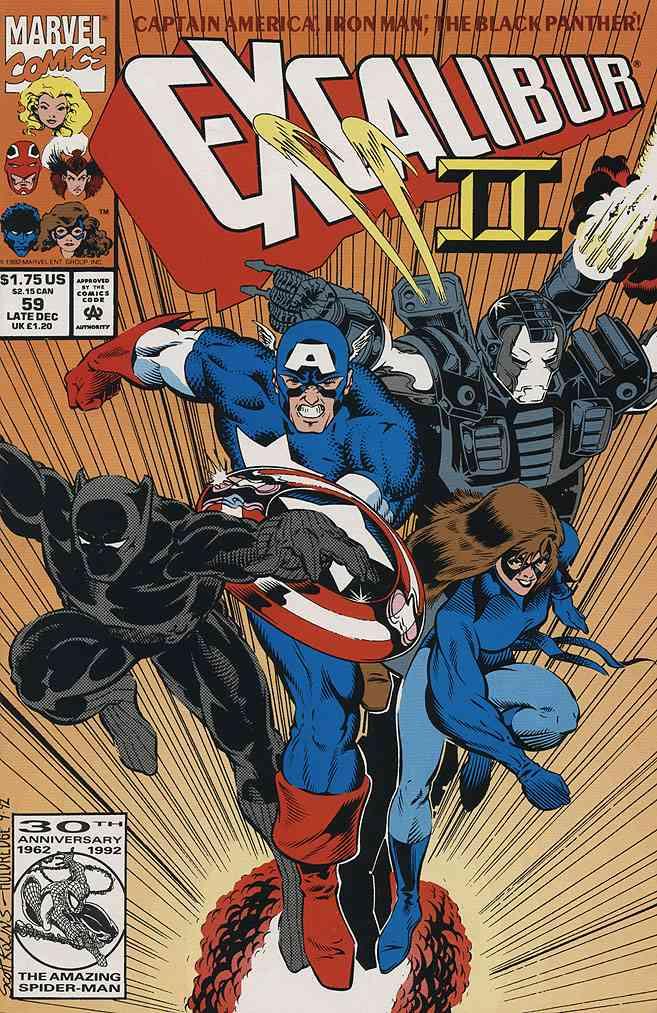 Excalibur comic issue 59