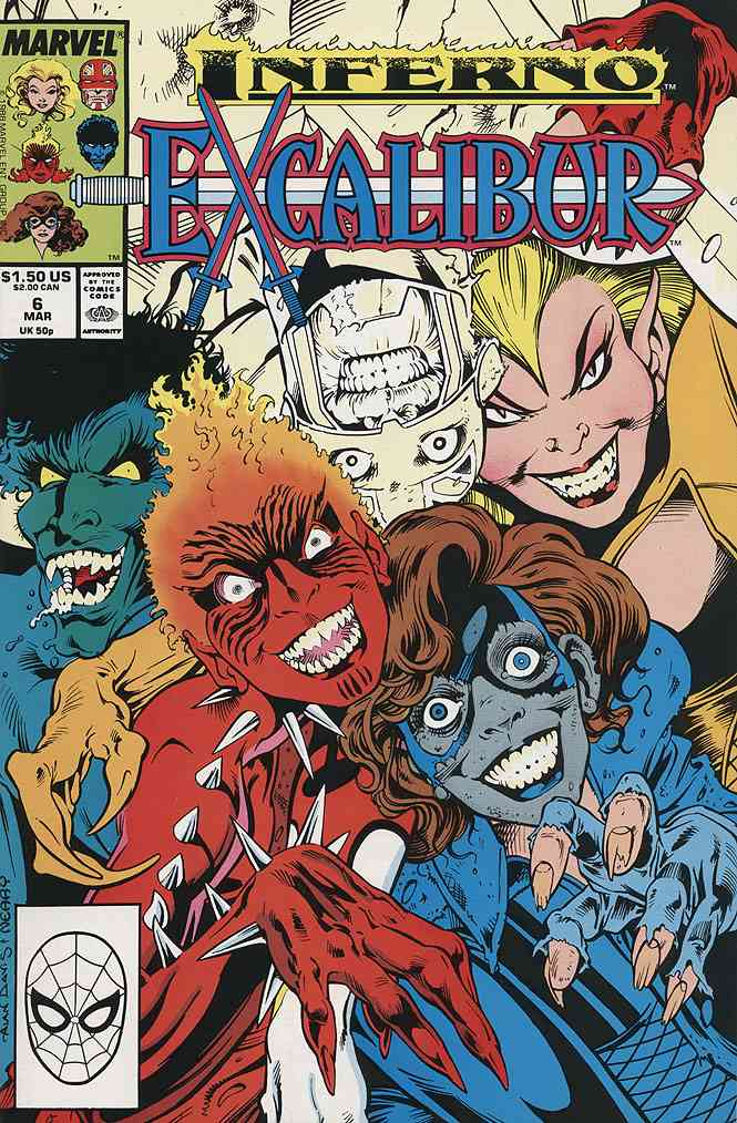 Excalibur comic issue 6