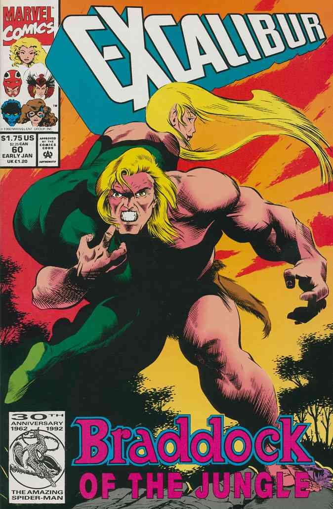 Excalibur comic issue 60