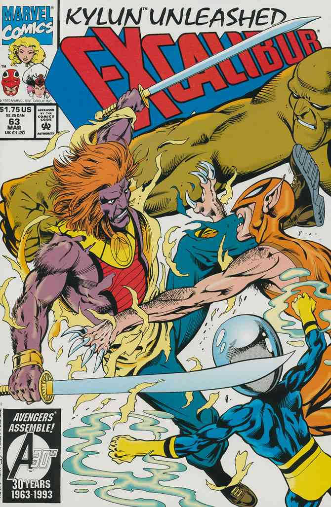 Excalibur comic issue 63