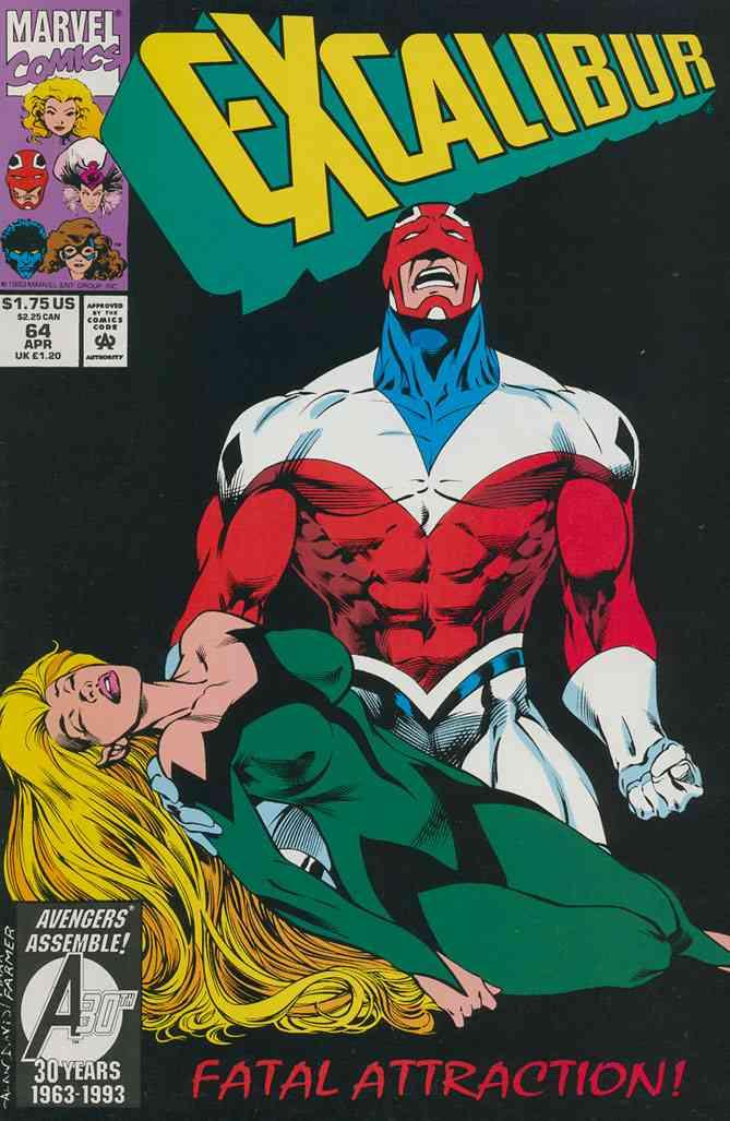 Excalibur comic issue 64