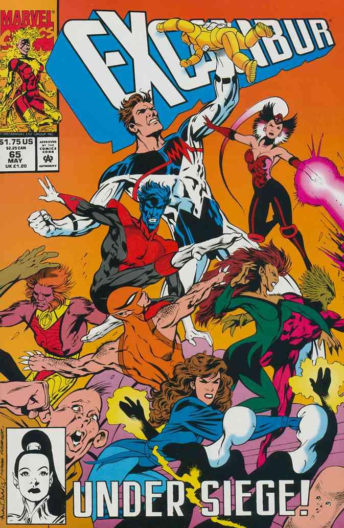 Excalibur comic issue 65