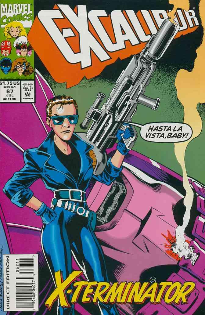 Excalibur comic issue 67