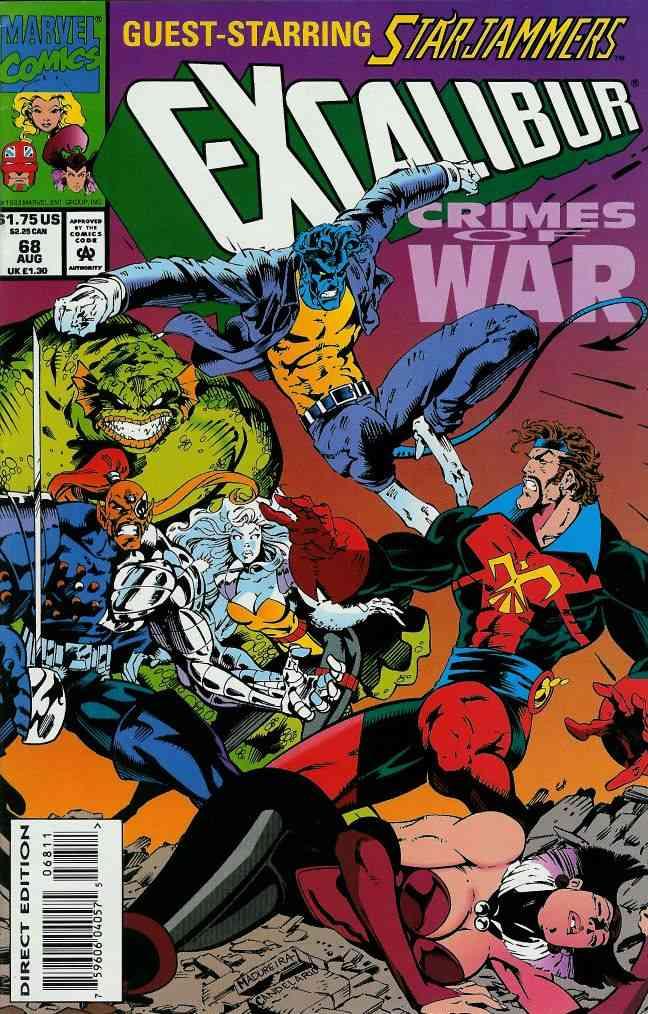 Excalibur comic issue 68