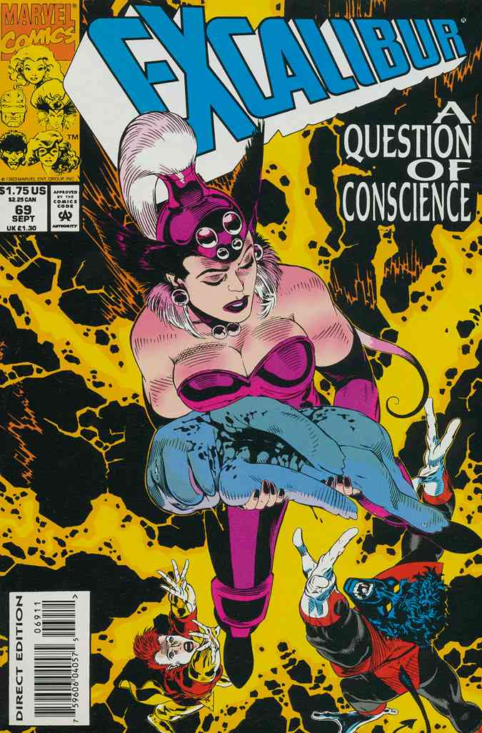 Excalibur comic issue 69