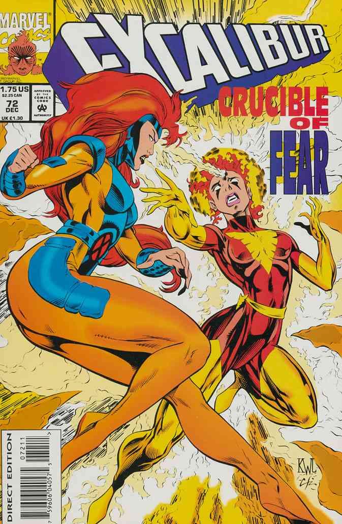 Excalibur comic issue 72