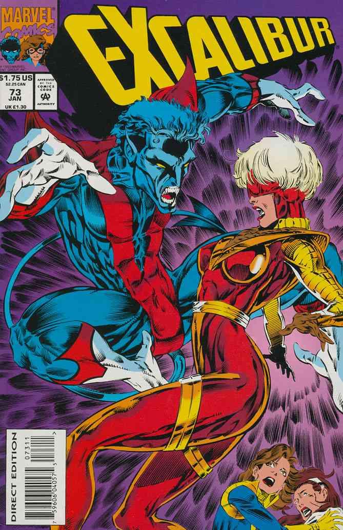 Excalibur comic issue 73