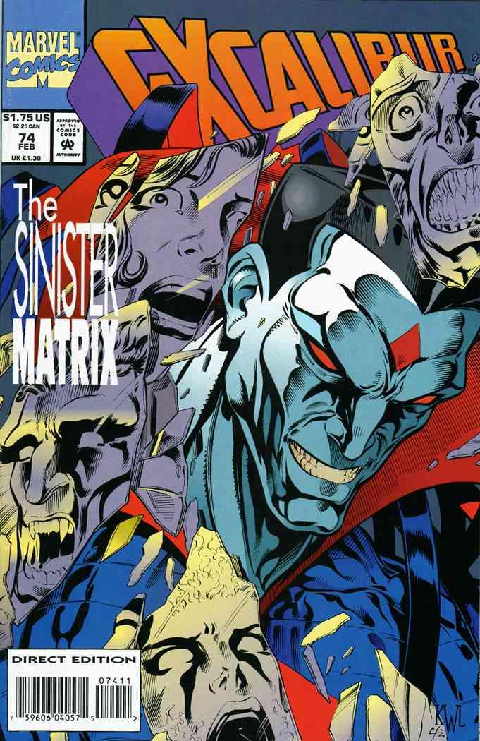 Excalibur comic issue 74