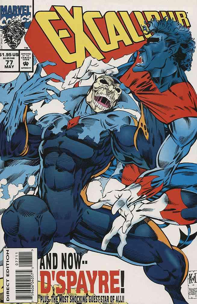 Excalibur comic issue 77