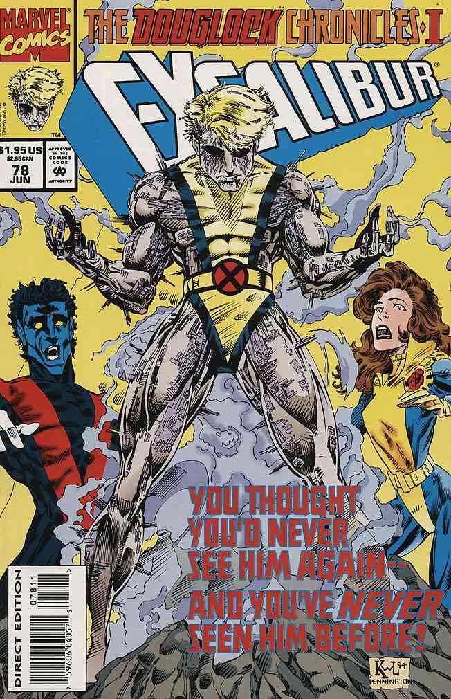 Excalibur comic issue 78