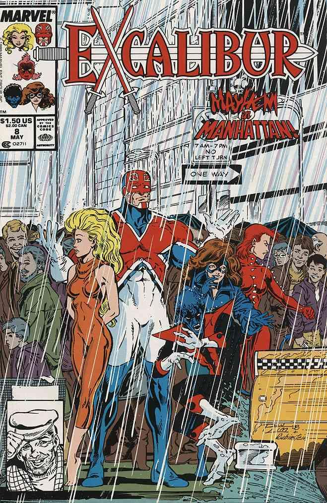 Excalibur comic issue 8