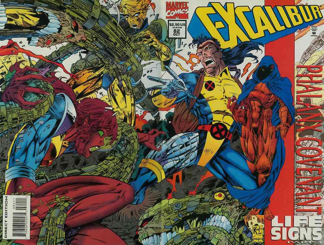Excalibur comic issue 82
