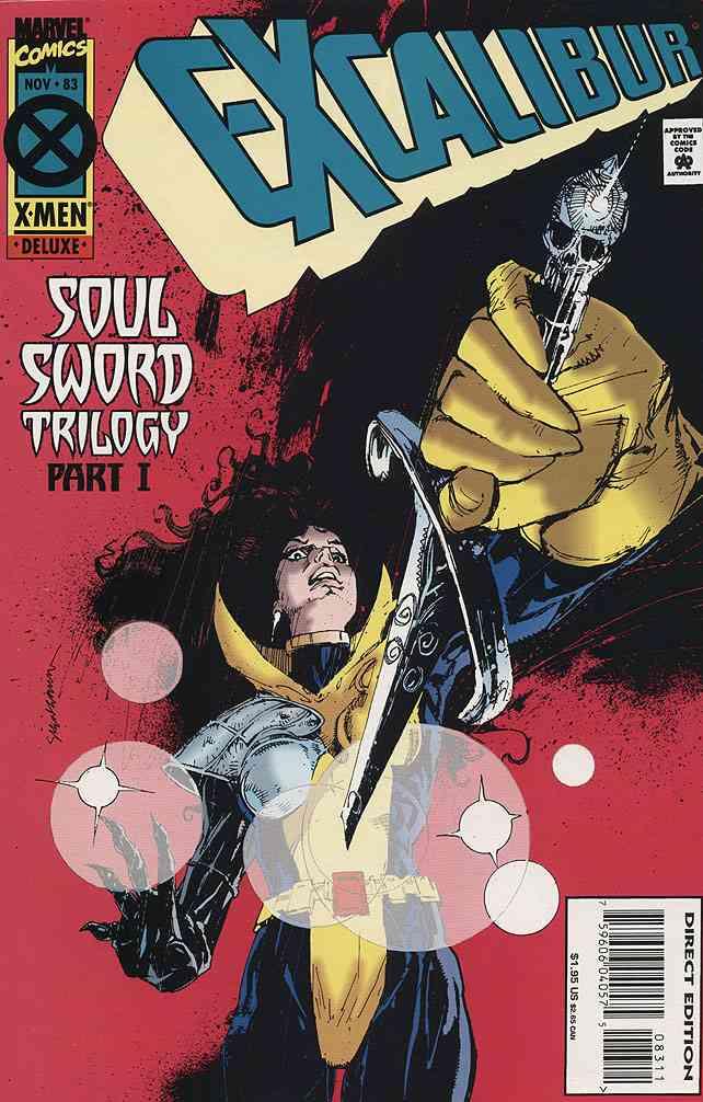 Excalibur comic issue 83