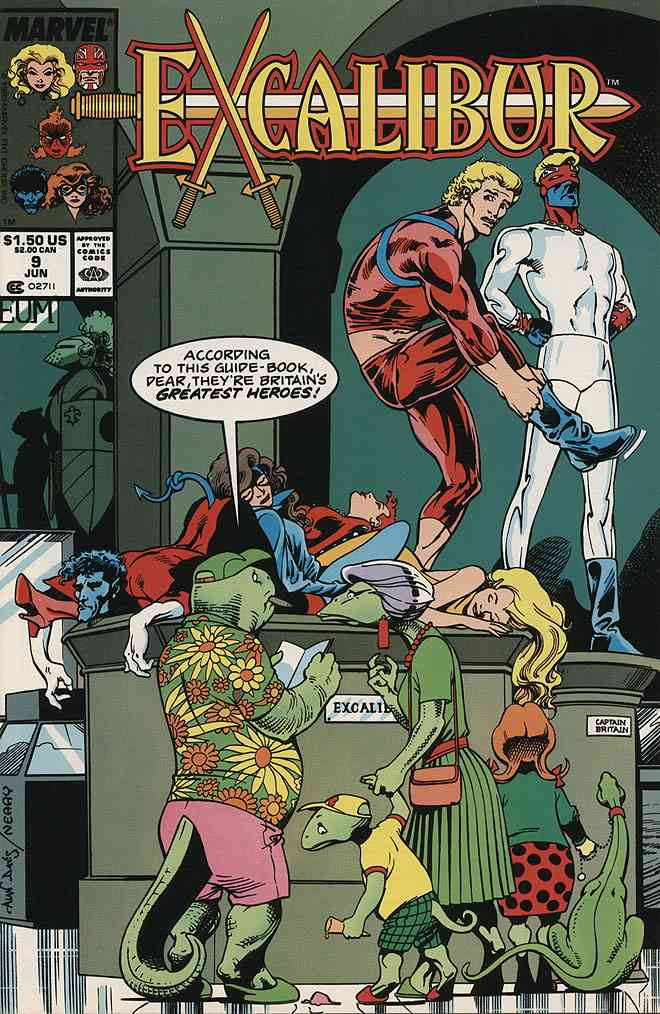 Excalibur comic issue 9