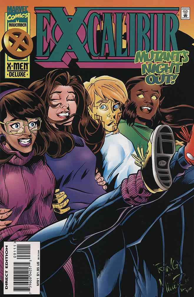 Excalibur comic issue 91