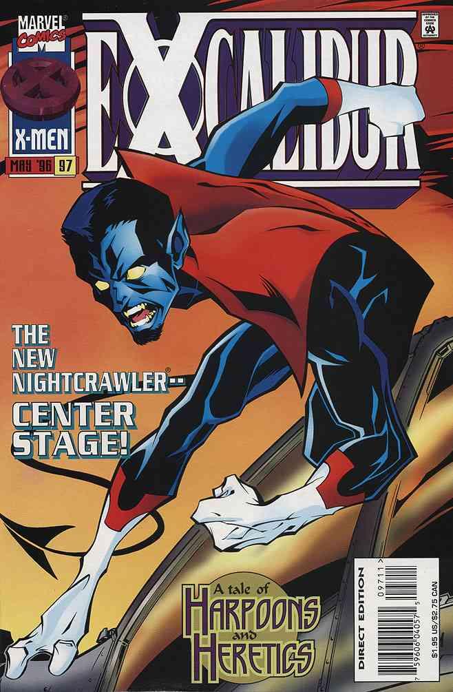 Excalibur comic issue 97