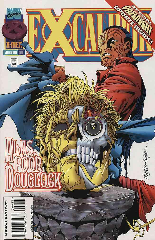 Excalibur comic issue 99