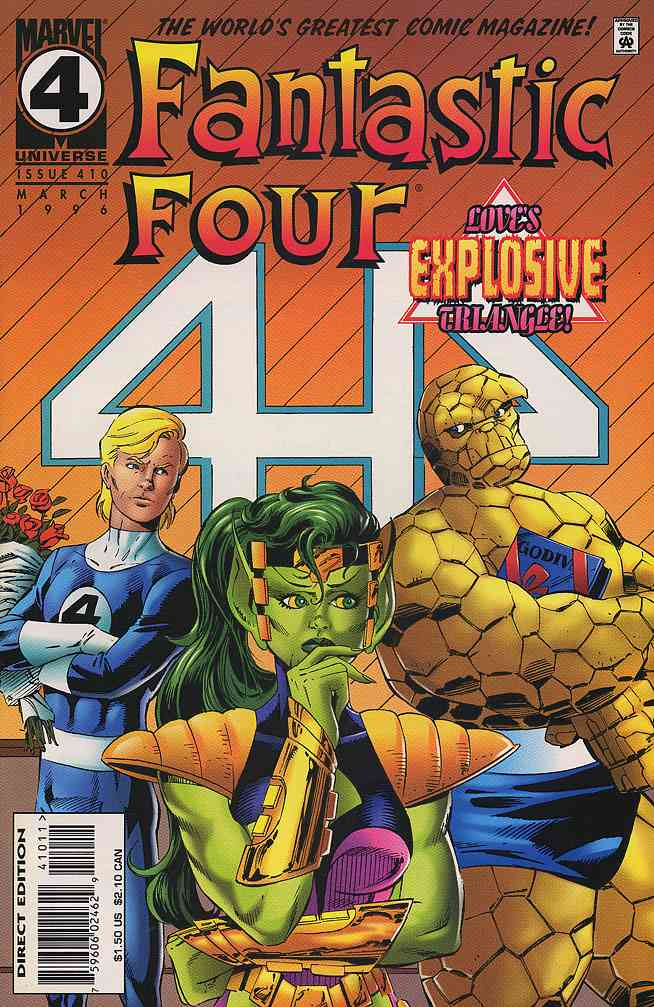 Fantastic Four (Vol. 1) comic issue 410